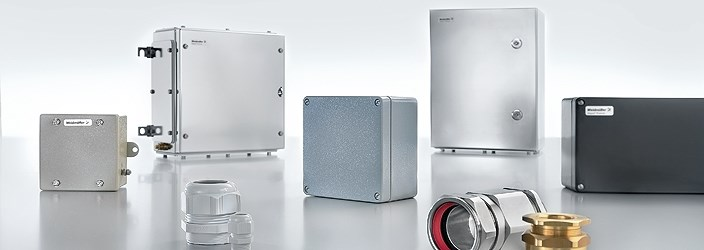 Application-specific assembled enclosure solutions of Weidmüller